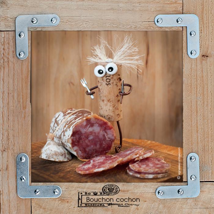 Bouchon cochon