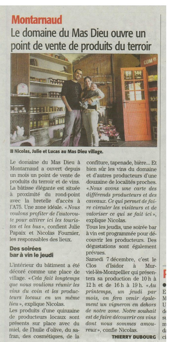 Midi Libre 06/12/2013