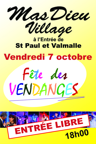 GD AFFICHE fete vendanges